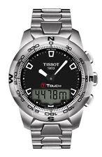 Sportliche Armbanduhren aus Edelstahl mit Chronograph und gebürstetem Finish