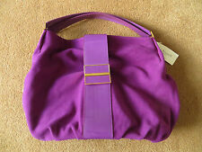 "BNWT L K Bennett ""History"" large Tote bag in Berry suede + dust bag"