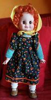 Bambola Furga ITALY Giuditta Anni 70 Capelli Rossi  ALTA 50 cm