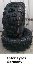 2x 25x10-12 p390 25x10.00-12 Hakuba ATV Quad Buggy terreno pneumatici ecc CST ABUZZ