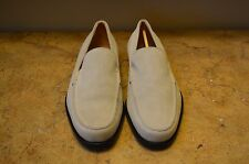 TOD'S Mens Khaki Leather Loafers Size 9