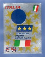 FIGURINA CALCIATORI PANINI EURO 96 N.235 ITALY - ITALIA REC/REMOVED