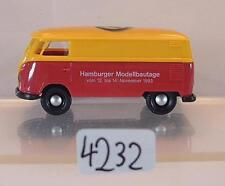 Brekina 1/87  Volkswagen Bulli VW T1b Kasten CAM Hamburger Modellbautage #4232