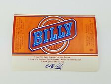 Billy Beer Label Labels NOS New Old Stock Original Billy Carter Louisville KY