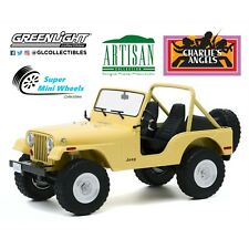Greenlight 1:18 - Artisan Collection - Charlie's Angels (TV) - 1980 Jeep CJ-5