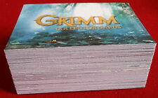 GRIMM- Season 1 - COMPLETE BASE SET of 72 CARDS - Breygent Marketing 2013