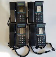Lot of (4) Telrad 79-520-0000/B 16 Button Digital Display Phones w/ 90 Day Wrrty