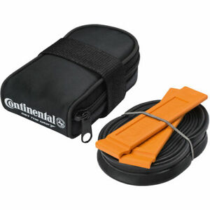 Continental Seat pack saddle bag plus Race 28 42/60mm inner tube & tyre levers