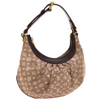 LOUIS VUITTON RHAPSODY PM HAND BAG SEPIA MONOGRAM IDYLLE M40406 AR5100 NR15031