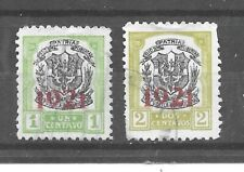 Dominican Republic Stamps- Scott # 227-228/A25-Canc/H-1921-Overprinted-NG