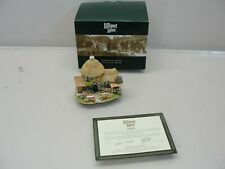 New 2001/2002 Lilliput Lane Little Scrumpy Cottage w/ Deed L2395 Made In England