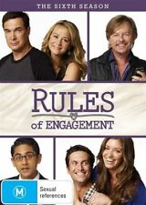 Rules Of Engagement : Season 6 (DVD, 2-Disc Set) NEW