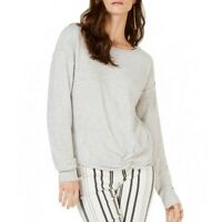 INC NEW Women's Cashmere Blend Twist-front Boat Neck Sweater Top TEDO