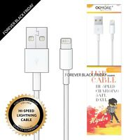 USB Apple Lightning Charger Cord 8 Pin Data Cable with Free Car Charger