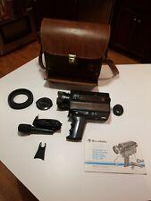 Vintage Bell & Howell FilmoSonic XL 1228 Macro 8 Camera Photo Movie Photography
