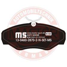 RENAULT AVANTIME 3.0 V6 Plaquettes de frein avant 13046028702N