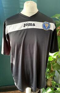 Shrewsbury Town JOMA Training Shirt Size Large Black White Rare