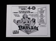 THE STARLETS 1977 * DOROTHY NEWKIRK * MONIQUE CARDIN * SEXPLOITATION PRESSBOOK!!
