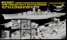 LionRoar PE details 1/350 WWII German Navy Battlecruiser Scharnhorst For DML