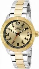 Invicta Specialty 17929 Men's Round Analog Black and Gold Tone Watch