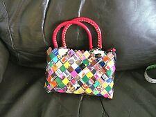 Nahui ollio new metallic sweetie mimi handbag