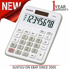 Casio Multi Functional Desk Calculator|8 Digit Display|Office & Student Use|Whit