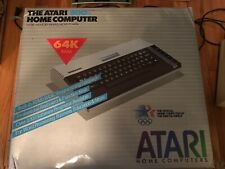 ATARI 800XL Vintage 1983 Home Computer in Box Includes Power Adapter + Printer