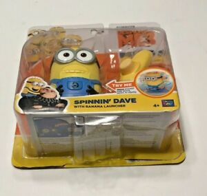 Despicable Me3 spinnin' Dave Thinkway Toy-(New In Open Box)