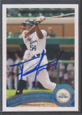 Autographed 2011 Topps Pro Debut Francisco Martinez - Lakeland Flying Tigers
