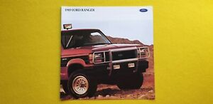Ford Ranger STX XLT GT S Custom 4x4 car catalogue brochure October 1988 MINT