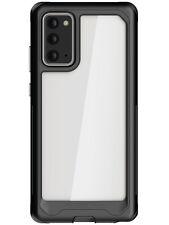 Clear Galaxy Note 20, Note 20 Ultra Case with Metal Bumper Ghostek Atomic Slim