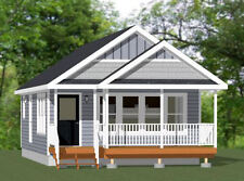 20x32 House -- 1 Bedroom  -- PDF Floor Plan --640 sq ft -- Model 1G