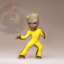 Bruce Lee Kung Fu Little Baby Groot Guardians of the Galaxy vol.2 Figurine