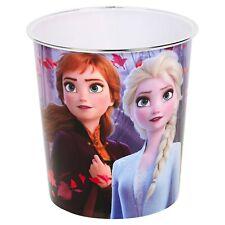 Girls Disney Frozen Anna & Elsa Bedroom Bin Childrens Waste Paper Rubbish Basket