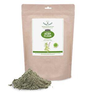 Hempiness Premium Organic Hemp Flour - 1kg | Vegan, Gluten-Free, EU Grown