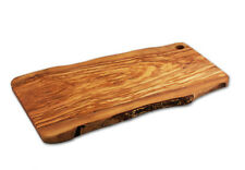 Rustic Italian Olive Wood Board and Slab - Made in Italy - 24 x 12 x 0.75 Inch