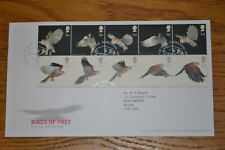January 2003 First Day Cover; Birds of Prey Excellent Condition