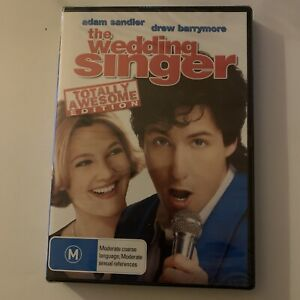 *New Sealed* The Wedding Singer - Totally Awesome Edition (DVD, 1998) Region 4