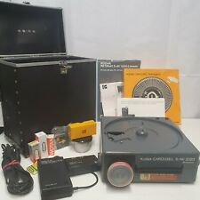 Kodak Carousel Slide Projector S-AV 2020 with Accessories