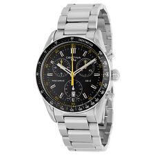 Certina DS 2 Chronograph Black Dial Mens Stainless Steel Watch