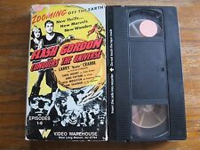 FLASH GORDON CONQUERS THE UNIVERSE VHS VIDEO WAREHOUSE EPISODES 1-6 RARE OOP