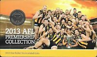2013 AFL PREMIERSHIP COLLECTION HAWTHORN Coin on Card