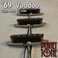 Planet Tone / Nico's USA '69 Voodoo Handcrafted Pickup Set for Strat®