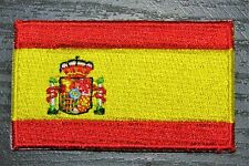 SPAIN Spanish Country Flag Embroidered PATCH Badge *NEW*