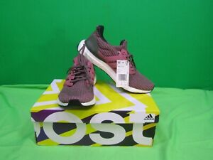 adidas Women's UltraBOOST Shoes MC7 BB6495 Trace Maroon/Base Green Size 9