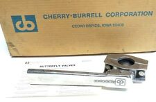 NIB CHERRY-BURRELL 100-BV BUTTERFLY VALVE 3026048, 15-EB, 100BV