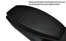BLACK STITCHING LEATHER ARMREST SKIN COVER FITS BMW 6 SERIES E63 E64 04-11