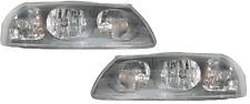 00 01 02 03 04 Impala Left & Right Headlight Headlamp Lamp Light Pair L+R