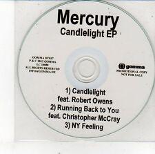 (EH156) Mercury, Candlelight EP - 2012 DJ CD