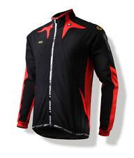 Spakct Fleece Windproof Cycling Velvet Jacket C6 Black/Red XL Sun Protective